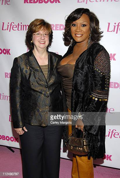 Betty Cohen president and CEO Lifetime Networks and Patti LaBelle