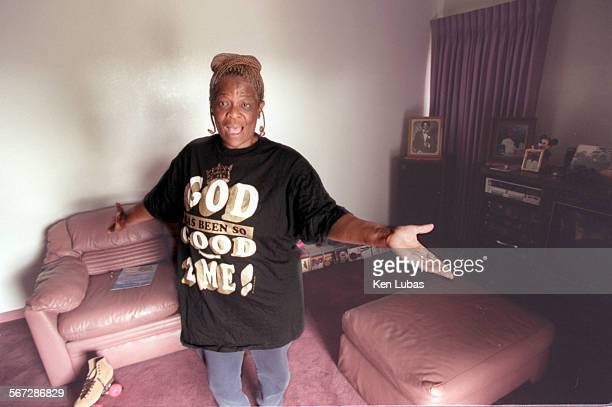 Betty Day mother of Wayne Day who hasbeen dubbed godfather of the Grape Street Crips and now one of America's most wanted men exclaims Does this look...