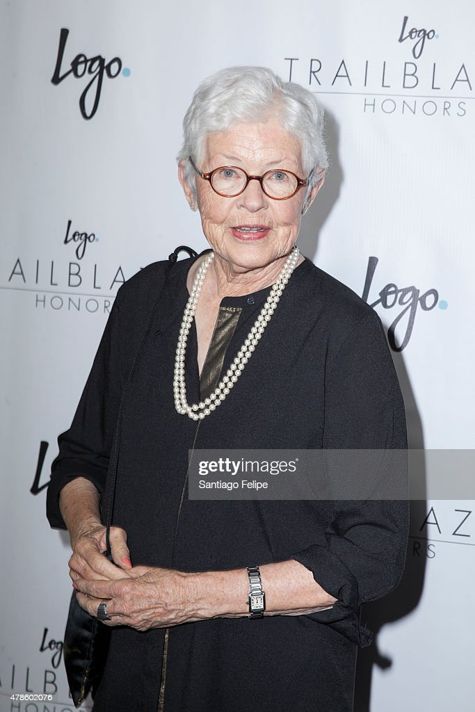 Betty DeGeneres attends Logo TV's 'Trailblazers' at the Cathedral of St. John the Divine on June 25, 2015 in New York City.