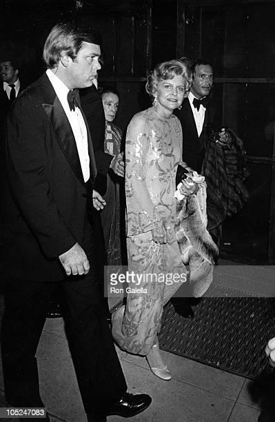 Betty Ford and Martha Graham during Martha Graham Award given to Halston at Studio 54 in New York City NY United States