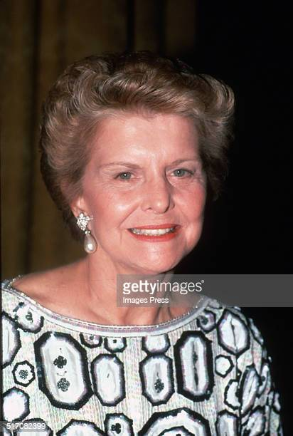 Betty Ford attends the Opening Night Gala of the Martha Graham Dance Company's 3week season of performances at the State Theater at Lincoln Center on...