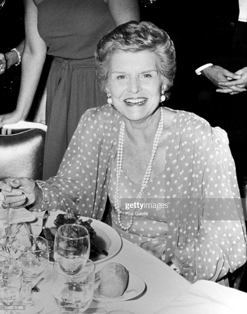 Betty Ford during 1st Commitment to Life Awards at Bonaventure Hotel in Los Angeles, California, United States.