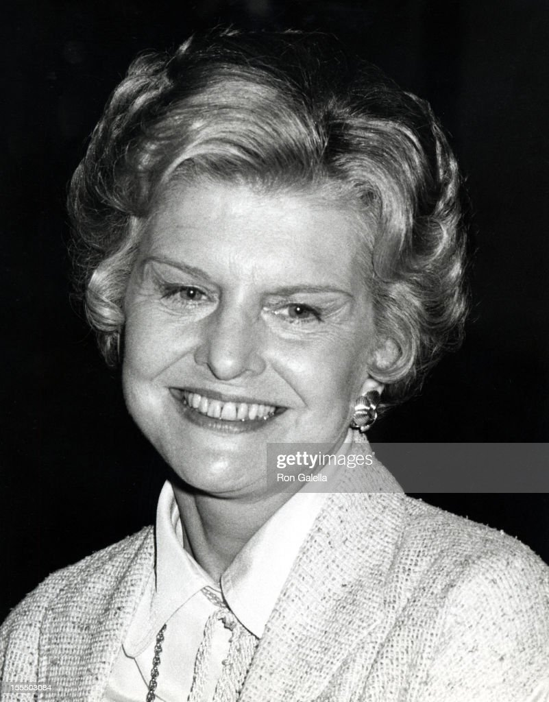 Betty Ford during Betty Ford File Photos at La Scala Restaurant in Los Angeles, California, United States.