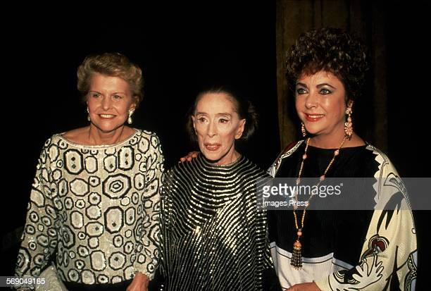 Betty Ford Martha Graham Elizabeth Taylor attend the Opening Night Gala of the Martha Graham Dance Company's 3week season of performances at the...