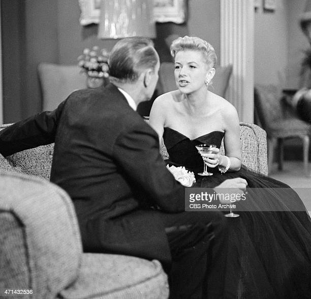 """Betty Furness as Beth Jaynes on the CLIMAX episode, """"Silent Decision."""" Image dated September 15, 1955."""