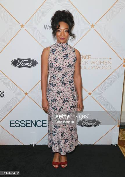 Betty Gabriel attends the 2018 Essence Black Women In Hollywood Oscars Luncheon at Regent Beverly Wilshire Hotel on March 1 2018 in Beverly Hills...