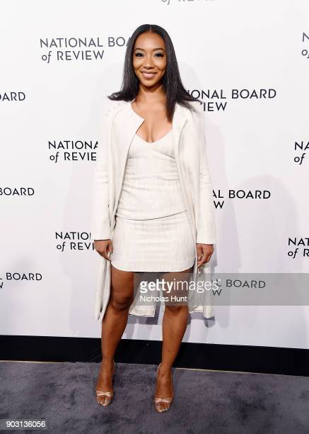 Betty Gabriel attends the 2018 National Board Of Review Awards Gala at Cipriani 42nd Street on January 9 2018 in New York City