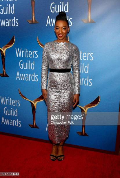 Betty Gabriel attends the 2018 Writers Guild Awards L.A. Ceremony at The Beverly Hilton Hotel on February 11, 2018 in Beverly Hills, California.