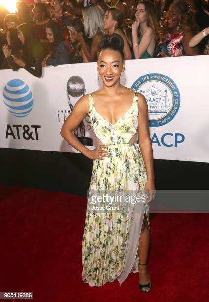 Betty Gabriel attends the 49th NAACP Image Awards at Pasadena Civic Auditorium on January 15, 2018 in Pasadena, California.
