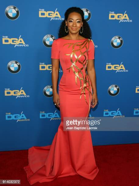 Betty Gabriel attends the 70th Annual Directors Guild Of America Awards at The Beverly Hilton Hotel on February 3 2018 in Beverly Hills California