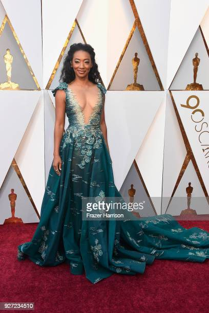 Betty Gabriel attends the 90th Annual Academy Awards at Hollywood & Highland Center on March 4, 2018 in Hollywood, California.