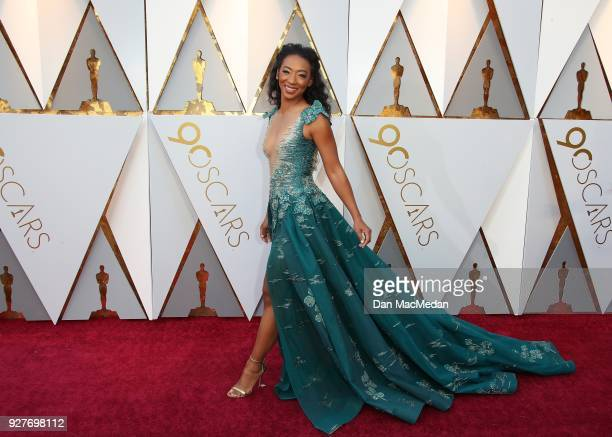 Betty Gabriel attends the 90th Annual Academy Awards at Hollywood Highland Center on March 4 2018 in Hollywood California