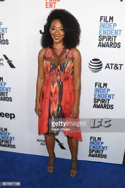Betty Gabriel attends the Film Independent Spirit Awards Nominee Brunch at BOA Steakhouse on January 6 2018 in West Hollywood California