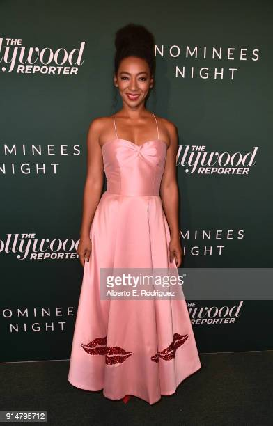 Betty Gabriel attends the Hollywood Reporter's 6th Annual Nominees Night at CUT on February 5, 2018 in Beverly Hills, California.