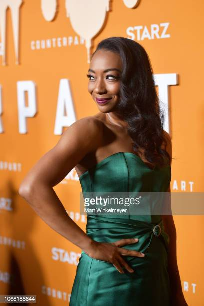 "Betty Gabriel attends the premiere of Starz's ""Counterpart"" Season 2 at ArcLight Cinemas on December 3, 2018 in Culver City, California."