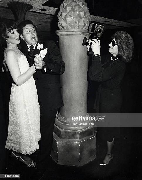 Betty Galella and Ron Galella during Ron Galella and Betty Burke Wedding Reception at the New York New York Night Club at New York New York Night...