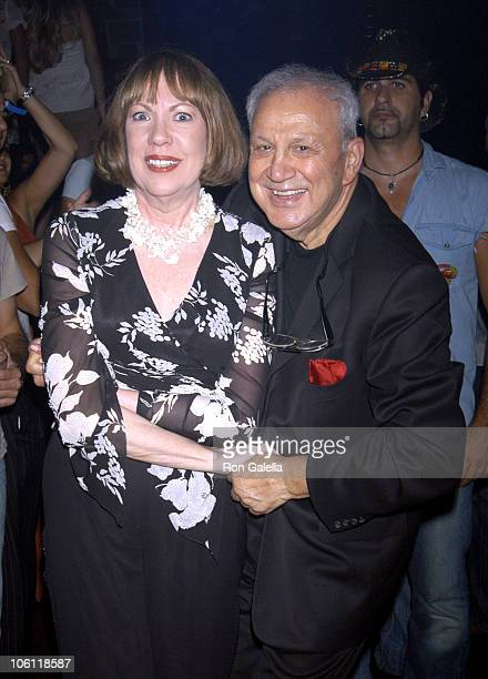 Betty Galella and Ron Galella during Ron Galella Disco Years Book Release at Mansion Nightclub at Mansion Nightclub in Miami Beach FL United States