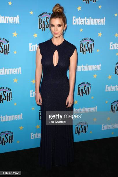 Betty Gilpin arrives at the Entertainment Weekly ComicCon Celebration at Float at Hard Rock Hotel San Diego on July 20 2019 in San Diego California