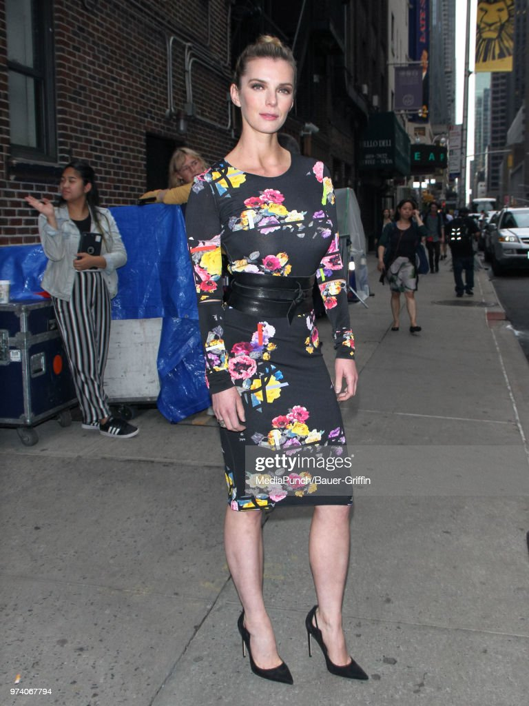 Betty Gilpin is seen on June 13, 2018 in New York City.