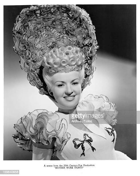 Betty Grable in a scene from the film 'Mother Wore Tights' 1947