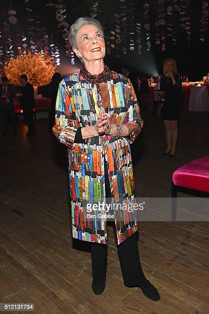 Betty Halbreich attends the Jewish Museum's Purim Ball at the Park Avenue Armory on February 24 2016 in New York City