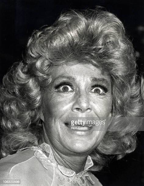 Betty Hutton during Party for Betty Hutton's Opening Night in Annie September 17 1980 at Copacabana in New York City New York United States