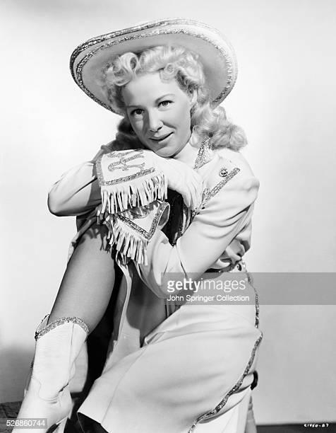 Betty Hutton played sharpshooter Annie Oakley in the 1950 film Annie Get Your Gun