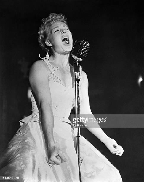 Betty Hutton Singing