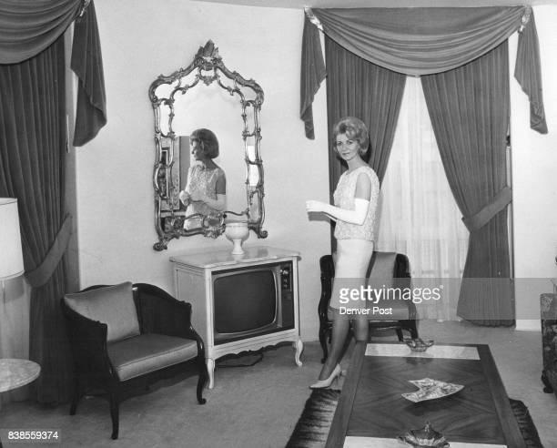 Betty Magner whose main job is hostess rooms which with redecoration have at the new Pump Room graces a cozy and made the Albany Hotel a frontrunner...