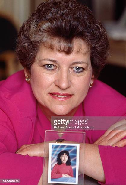 Betty Mahmoody displays a photo of her daughter Mahtoub In 1984 Betty an American housewife traveled to Iran with her husband and daughter to visit...