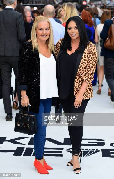 Betty Moffatt and Scarlett Moffatt arriving for the King of Thieves World Premiere held at Vue West End Leicester Square London
