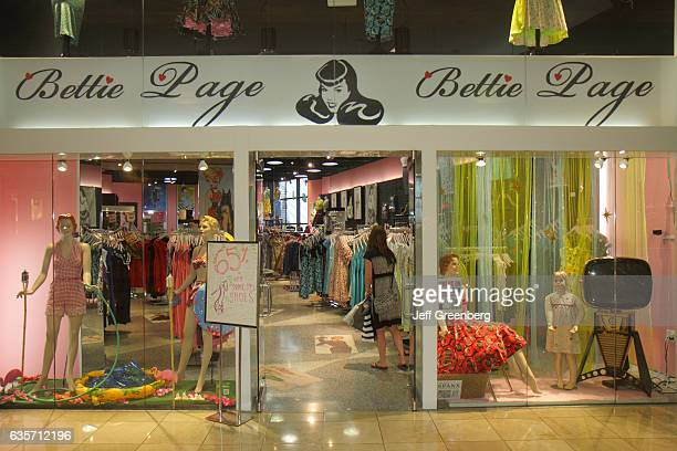 Betty Page entrance Forum Shops at Caesars Palace