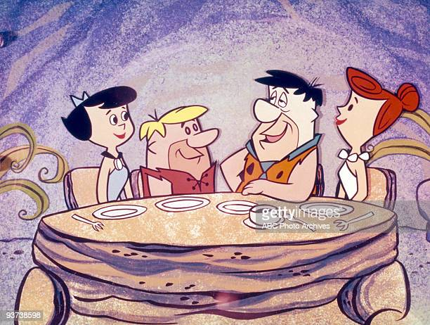 FLINTSTONES 9/30/604/1/66 Betty Rubble Barney Rubble Fred Flintstone Wilma Flintstone