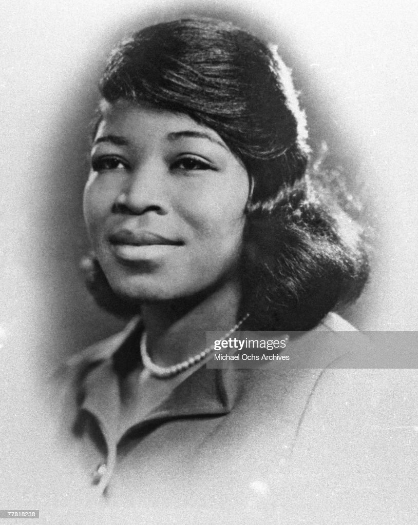 Portrait Of Betty Shabazz : News Photo
