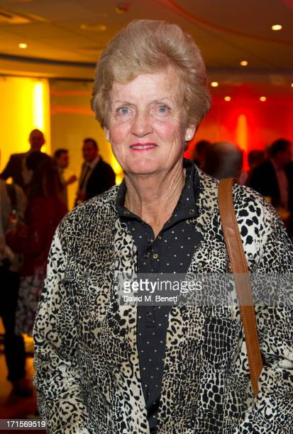 Betty Stove attends the Battle of The Sexes UK premiere inside arrivals at the Vue Leicester Square June 26 2013 in London England