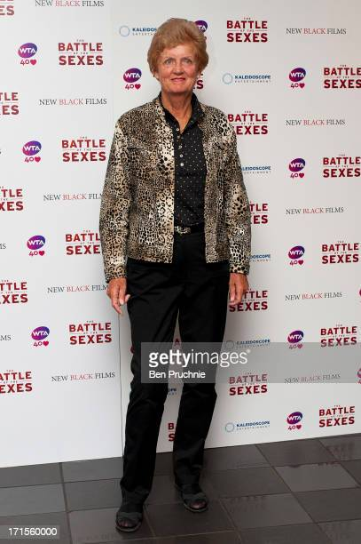 Betty Stove attends the UK Premiere of 'Battle of the Sexes' at Vue Leicester Square on June 26 2013 in London England