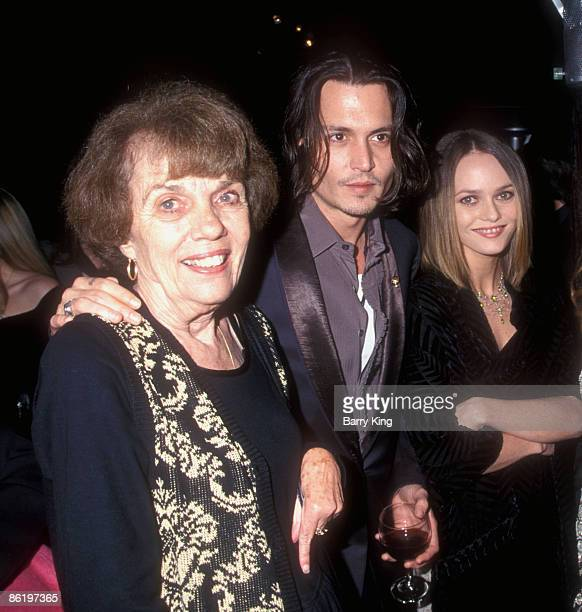 Betty Sue Palmer , Johnny Depp and Vanessa Paradis