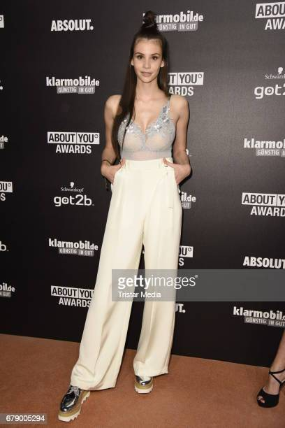 Betty Taube attends the About You Awards on May 4 2017 in Hamburg Germany