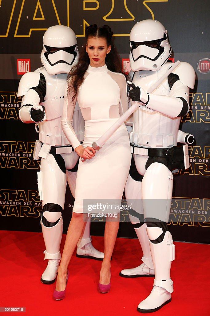 'Star Wars: The Force Awakens' German Premiere In Berlin : News Photo