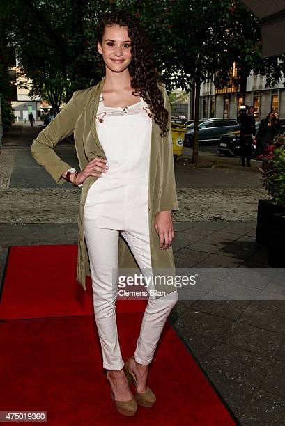 Betty Taube attends the Glam Night 2015 on May 28 2015 in Berlin Germany