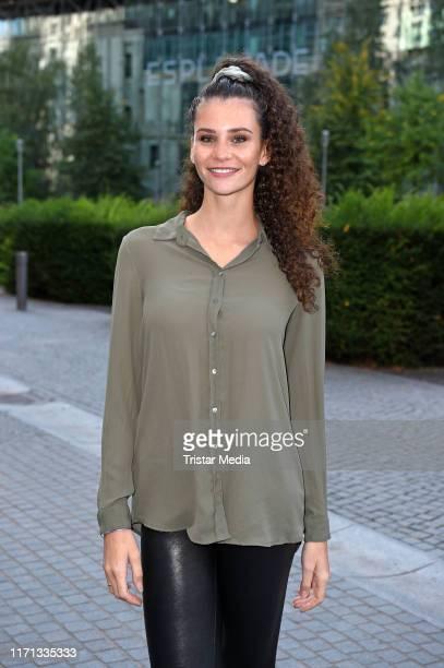 Betty Taube attends the Schoen fuer mich Rossmann Beauty Event at Berliner Freiheit on September 26 2019 in Berlin Germany