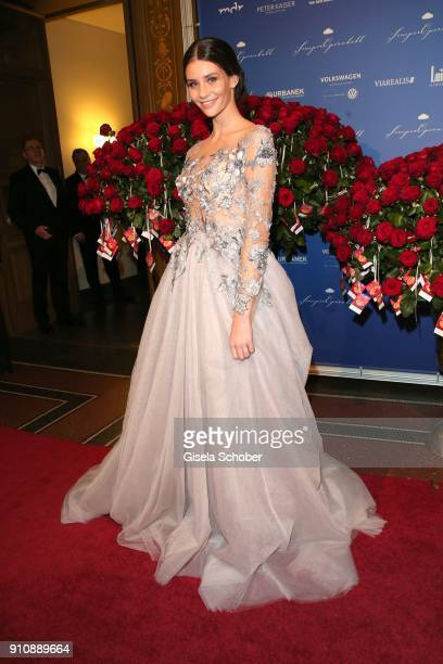 Betty Taube during the Semper Opera Ball 2018 at Semperoper on January 26 2018 in Dresden Germany