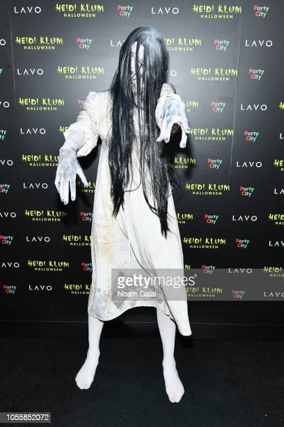 Betty TaubeGunter attends Heidi Klum's 19th Annual Halloween Party presented by Party City and SVEDKA Vodka at LAVO New York on October 31 2018 in...