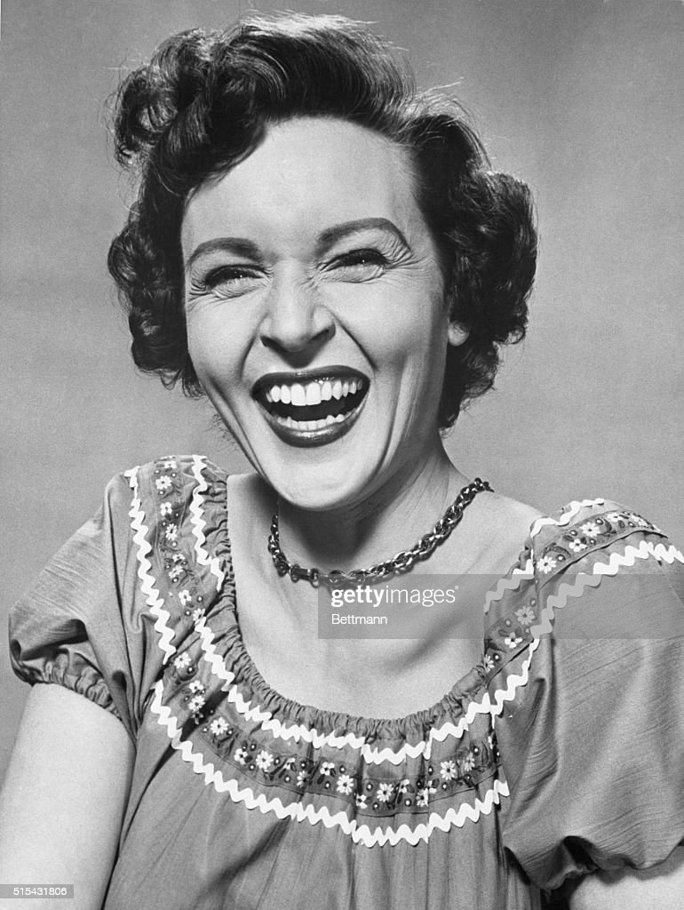 That Famous 'Betty' Smile : News Photo