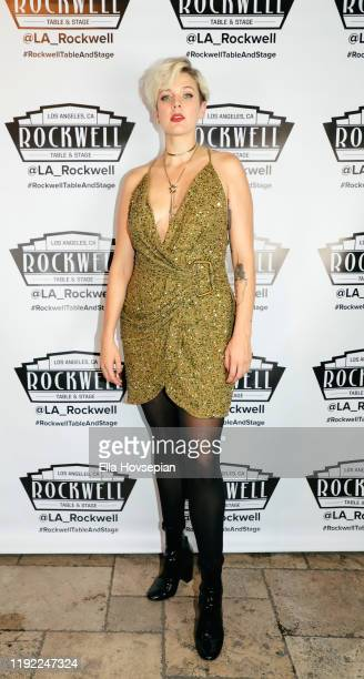 Betty Who attends A Molly Jolly Christmas at Rockwell Table and Stage on December 05 2019 in Los Angeles California