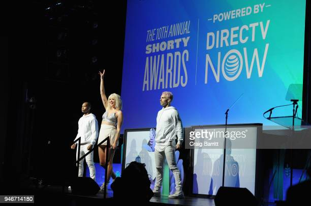 Betty Who performs onstage during the 10th Annual Shorty Awards at PlayStation Theater on April 15 2018 in New York City