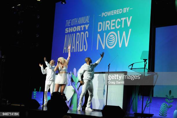 Betty Who performs onstage during the 10th Annual Shorty Awards at PlayStation Theater on April 15, 2018 in New York City.