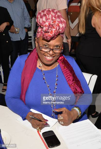 Betty Wright attends Little Dreams Foundation Music Auditions in Design District on September 20 2017 in Miami Florida