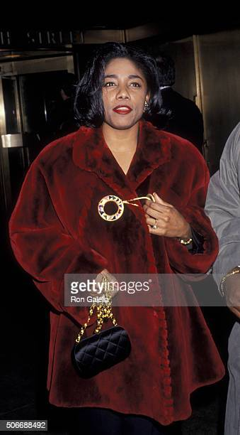 Betty Wright attends RCABMG Post Grammy Awards Party on March 1 1994 at Rockefeller Center in New York City