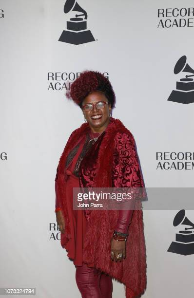 Betty Wright attends the Membership Celebration Holiday Party on December 13 2018 in Miami Florida